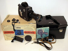 KRASNOGORSK-3 Kit ZENIT KMZ VINTAGE 1984 USSR RUSSIAN 16MM MOVIE CAMERA