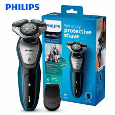 *NEW* Philips AquaTouch Wet & Dry Men's Electric Skin Protection Shaver +Trimmer