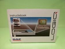 VINTAGE DAF TRUCK  LOGIC - INSTRUCTIEBOEK INSTRUCTION BOOK - RARE - GOOD