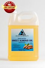 SWEET ALMOND OIL ORGANIC CARRIER COLD PRESSED REFINED 100% PURE 7 LB