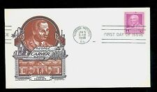 #953 1947 3c G W Carver FDC Mellone #7 Cachet Craft-Staehle Cachet UA FD1418