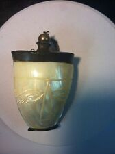 Handmade Chinese (or Japanese) Mother-of-pearl Shell Snuff or Perfume Bottle