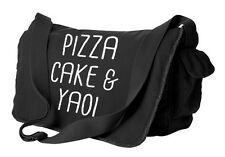 Yaoi Bag Pizza Cake & Yaoi messenger bag cute fandom laptop bag BL anime fangirl