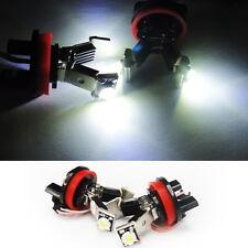No Error LED Angel Eye Halo Light V bulb H8 For 07-12 BMW 1 3 5 Series X5 X6 Z4
