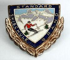 Anstecknadel Standard SKISCHULE BRAND in Silber