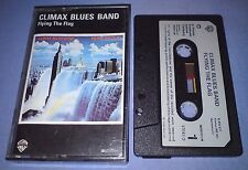 CLIMAX BLUES BAND FLYING THE FLAG PAPER LABELS cassette album T2224