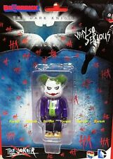 Medicom Be@rbrick DC Comics Batman Knight 100% Joker Why So Serious Bearbrick 1p