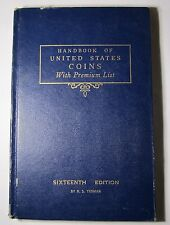 1960 Blue Book A HandBook of United States Coins Dealer Guide 17th Edition!