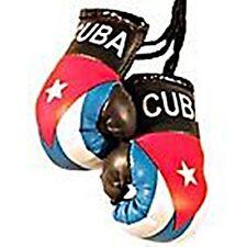 """CUBA FLAG """"MINI BOXING GLOVES"""""""