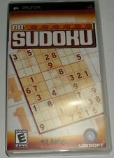 PSP PLAYSTATION PORTABLE UMD GO SUDOKU 1000 PUZZLES LOGIC-BASED NUMBERS GAME NEW