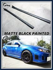 CARKING MATTE BLACK for SUBARU IMPREZA WRX STI GVB GVF GRB GRF CS SIDE SKIRTS