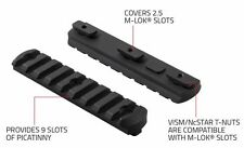 NcStar VMML6 M-LOK 9 Slot Picatinny/Weaver Rail Handguard Section Aluminum 4.00""