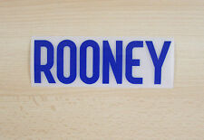 *14 / 15 - NIKE ; ENGLAND HOME PLASTIC NAME BLOCK / ROONEY = ADULTS*
