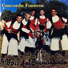 Cuncordu Fonnesu - 5 Voci Dal Gennargentu ( CD - Album )