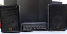 Squier by Fender 4 Channel Portable PA System Including Speaker Cables