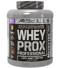 WHEY PROX PROFESSIONAL cookies and cream 2268gr NUTRYTEC PLATINUM PROTEINA