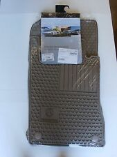 Mercedes-Benz W211 E-Class Genuine All Season Rubber Floor Mat Set NEW 2003-2009