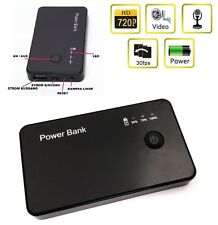 POWERBANK VERSTECKTE KAMERA POWERCAM VIDEO ÜBERWACHUNG MINI SPION SPYCAM 720P A7