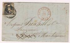 Belgica. Carta circulada con sellos de 10 ct.