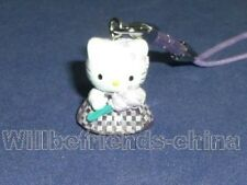 Hello Kitty Flower-Girl Mobile Cell Phone Charm Strap Pendant Ornament