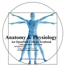 CD - Anatomy & Physiology - OpenStax College Textbook - 1339 pages in PDF Format