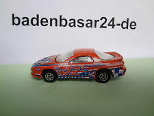Majorette N° 212 Pontiac Firebird 1:63 orange