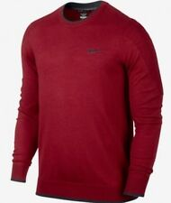 Men's Nike Tiger Woods Collection Golf Sweater  Large NWT $150 Sunday Red