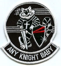TOMCAT F-14 FIGHTER SQN PATCH COLLECTIONS: VF-154 BLACK KNIGHTS Any Night Baby