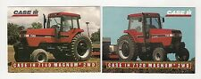 1995 CASE IH 7140/7120 Magnum 2WD Tractor, 2 collector/trading cards, #C23-#C24