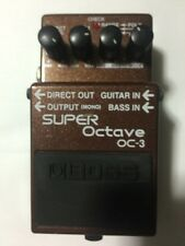 Free Ship Boss OC-3 Super Octave Guitar Effect Pedal Vintage 2003 Taiwan
