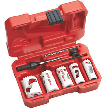 Milwaukee 49-22-4138 Steel Plumber's Hole Dozer Hole Saw Kit - 8pc