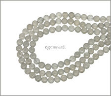 "15.7"" Gray Moonstone Round Beads ap.4.5mm Grade A 74124"