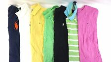 Ralph Lauren & Tommy Hilfiger Lot of 7 Women's Tops/Polo Shirts XL BF15158