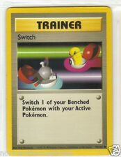 POKEMON CARD - TRAINER SWITCH - # 95/102 MINT - NEVER PLAYED