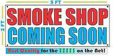 SMOKE SHOP COMING SOON Banner Sign NEW Larger Size High Quality! XXL