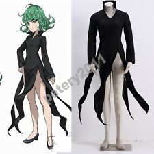 One punch man tatsumaki Tornado of Terror S rate Hero Cosplay Costume Halloween