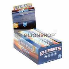 4x Packs ( Elements 300's 300s 1.25 ) Ultra Thin Rice Cigarette Rolling Papers