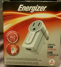 USB CHARGER SWIVEL ROTATES 360°  BY ENERGIZER