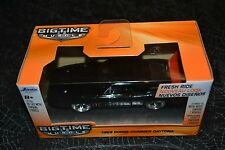 JADA BIGTIME MUSCLE 1969 DODGE CHARGER DAYTONA BLACK 1:32 SCALE