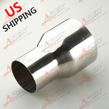 "2.75""  TO 3"" INCH WELDABLE TURBO/EXHAUST STAINLESS STEEL REDUCER ADAPTER PIPE US"