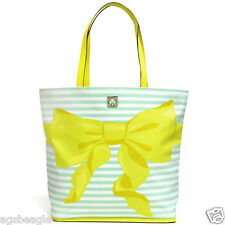 Kate Spade Bag WKRU3184 New York Sonora Poplar Court Tote Yellow Agsbeagle