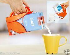 Milchpackunghalter Tetrapackhalter Getränkehalter m.Griff Milchtütenhalter