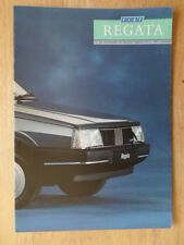 FIAT REGATA orig 1988 UK Mkt sales brochure - Turbo DS 100S