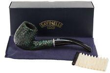 Savinelli Arcobaleno 606 Green Tobacco Pipe - Rustic