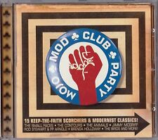 Mojo Magazine Mod Club Party Cd By Various Artists 60s UK
