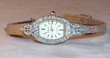 DUFONTE DIAMOND COLLECTION LADIES 1970s GOLD WRISTWATCH BOXED