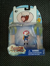 ADVENTURE TIME WALKMAN FINN PVC FIGURE WITH STAND, CAKE TOPPER, NEW