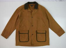 Vtg 90s CHRISTIAN DIOR MONSIEUR Brown Cotton Hunting Style Field Jacket Mens XL