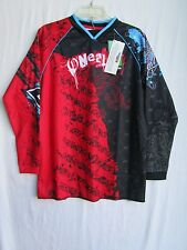 ONEAL Mayhem motocross BMX jersey youth  NEW red/blk XL extra large ATV,0036-305