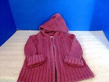 CHEROKEE~Mauve CABLE KNIT SWEATER~Full Zip~Toddler Girls 2T